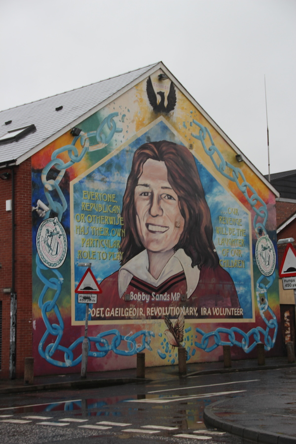 Bobby-Sands-Mural in West Belfast