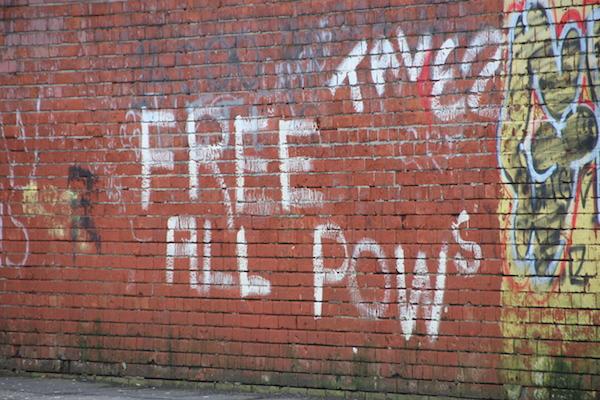 POW-Graffiti Belfast
